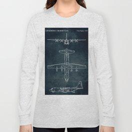LOCKHEED C-130 HERCULES - First flight 1954 Long Sleeve T-shirt