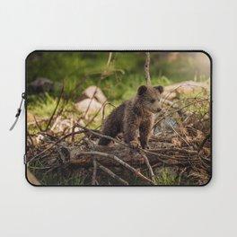 Cute Bear Cub Laptop Sleeve
