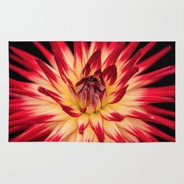 Flower red Rug