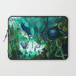 Spying on the Ama Diver Laptop Sleeve