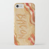bacon iPhone & iPod Cases featuring Bacon by Kristin Frenzel