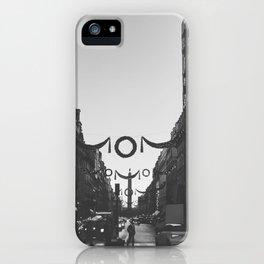 Navidad, Paris, France iPhone Case