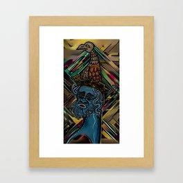 half dollar Framed Art Print