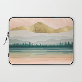 Spring Forest Lake Laptop Sleeve