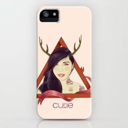 Yaz the cutie iPhone Case