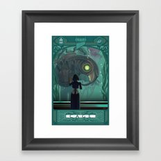 Art Nouveau Bioshock Infinite - Elizabeth and Songbird Framed Art Print