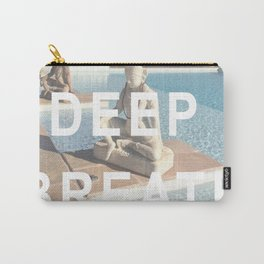 Take a Deep Breath Carry-All Pouch