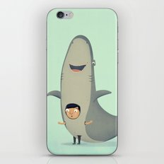 Be yourself or be a shark if yourself is a shark. iPhone & iPod Skin