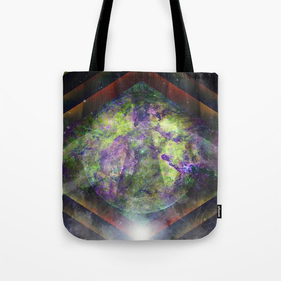 Parallel Worlds Tote Bag