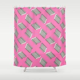 'Modern Geometric Design' Shower Curtain