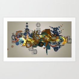 Mistake #1 Soft Art Print