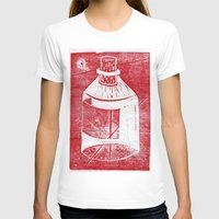 whisky T-shirts featuring Ol' Whisky Bottle by Shane Haarer
