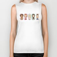spice girls Biker Tanks featuring Spice Girls by Big Purple Glasses