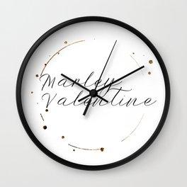 Marley Valentine Wall Clock