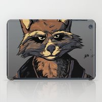 rocket iPad Cases featuring Rocket by Jaz Mimms