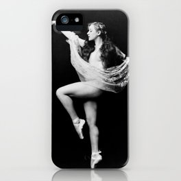 Zeigfeld Follies Girl iPhone Case
