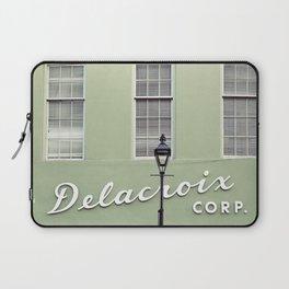 New Orleans Delacroix Building Laptop Sleeve