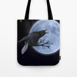 Raven Speak Tote Bag
