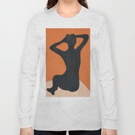 Abstract Nude I Long Sleeve T-shirt