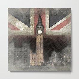 Big Ben United Kingdom Metal Print