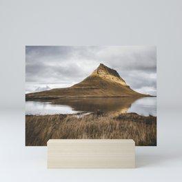 Feeling of Iceland. Kirkjufell. || Travelshots. || Mountains. || MadaraTravels Mini Art Print