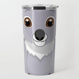 Cute Little Koala Bear Travel Mug