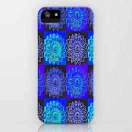 Many Blue Stars iPhone Case