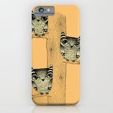 Owls (orange) Slim Case iPhone 6s