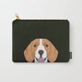 Darby - Beagle gifts for pet owners and dog person with a beagle Carry-All Pouch