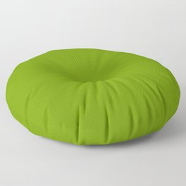 Solid Color LIME RIND Floor Pillow