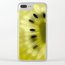 Golden Kiwi Clear iPhone Case