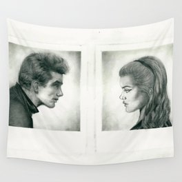 The lives of picture people Wall Tapestry