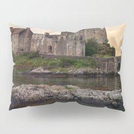 Eilean Donan Castle at sunrise Pillow Sham