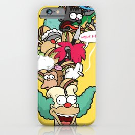 Krusty iPhone Case