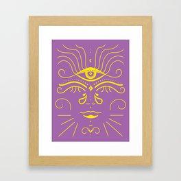 Buddhi Babe Framed Art Print