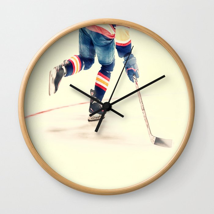 The Sport Of Hockey Wall Clock