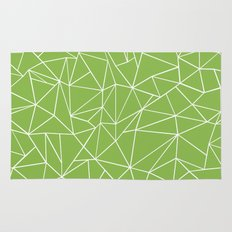 Ab Outline Greeny Rug