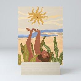 Sun Salutation Mini Art Print