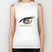 photographer Biker Tanks featuring Photographer by Jatmika jati