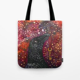 Key Crow Tote Bag