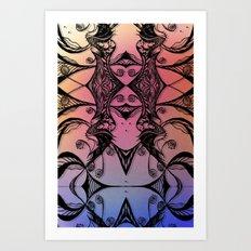 Complacent Art Print