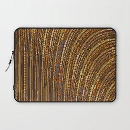 zara - art deco arc arch design in bronze copper gold Laptop Sleeve