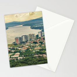 Aerial View of Guayaquil from Window Plane Stationery Cards