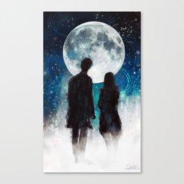 Show Me The Stars Canvas Print
