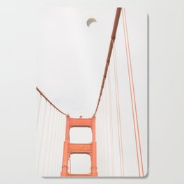 On the Golden Gate Bridge Cutting Board