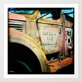 Retired Engine Art Print