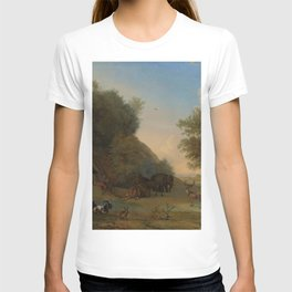 Orpheus and the Animals - Paulus Potter (1650) T-shirt