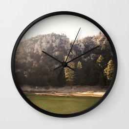 Crystal Lake, CA Wall Clock