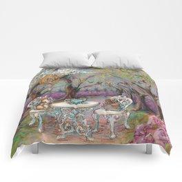 Vintage Woodland Tea Party Comforters