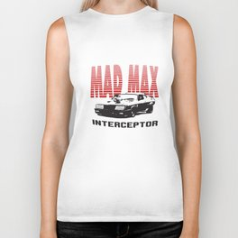 Max Mfp Interceptor Retro Movie V8 Car Pursuit Car T-Shirts Biker Tank